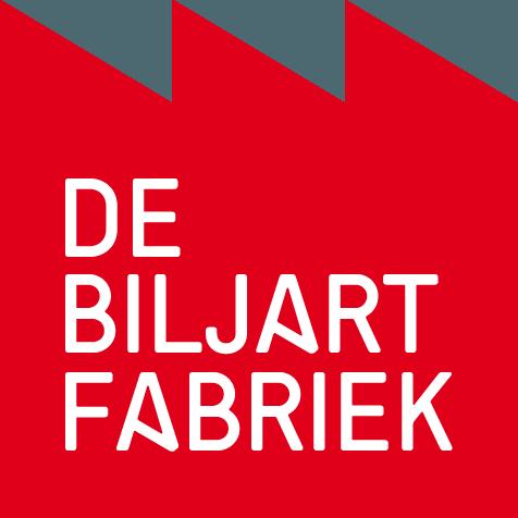 Het logo van de Biljartfabriek